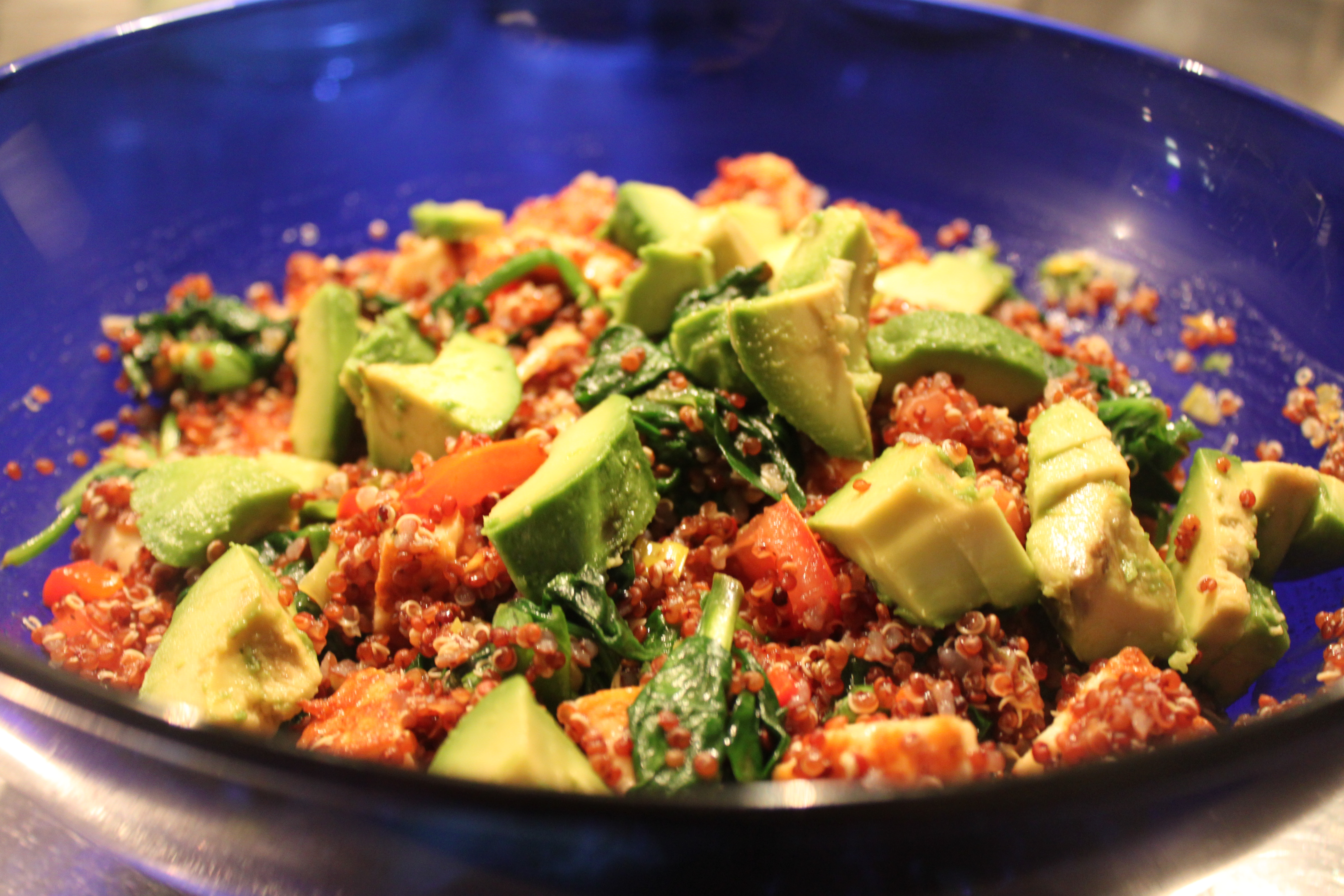 Matig sallad med quinoa