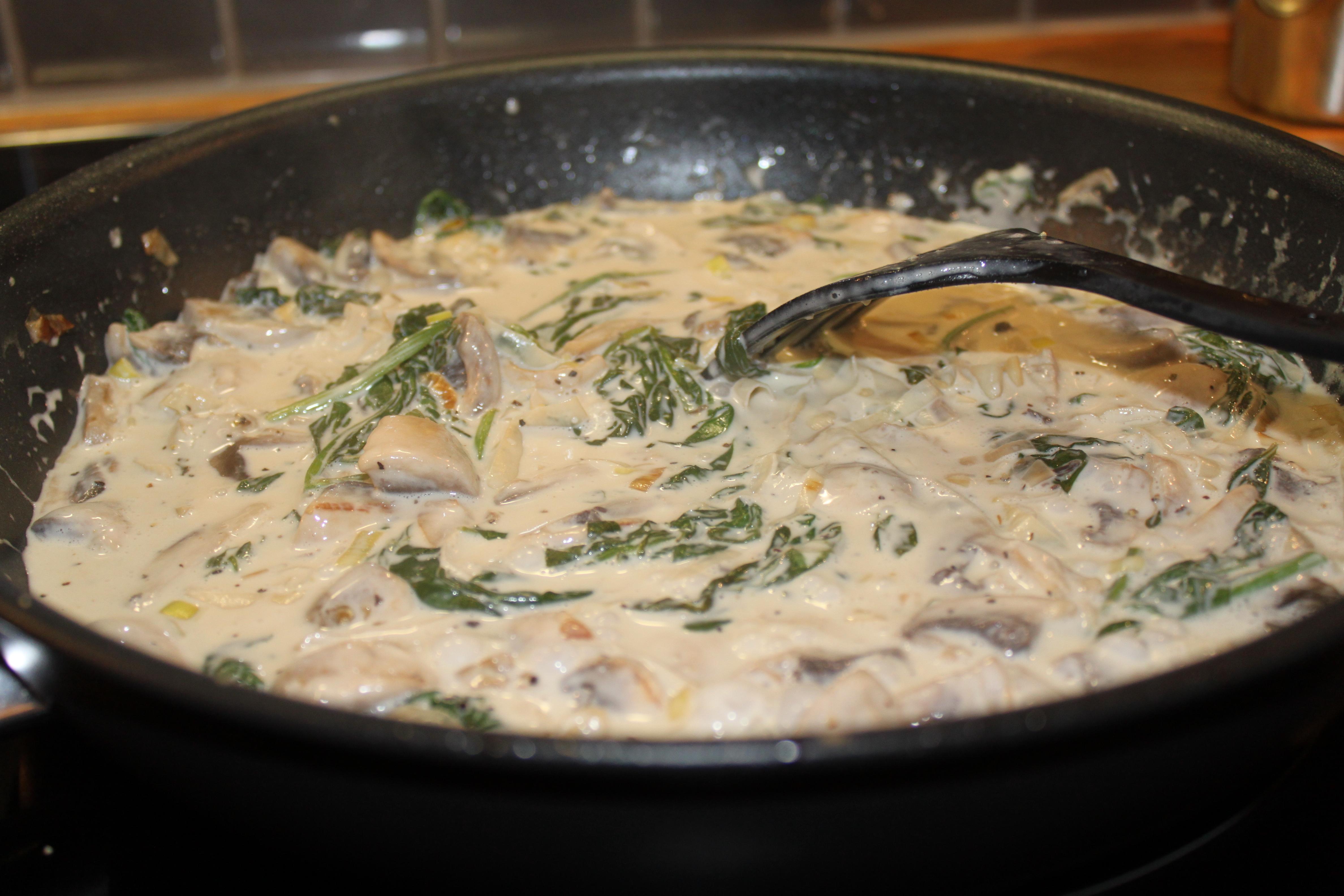 gravad lax räkor pasta